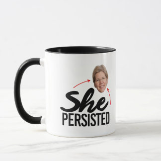 She Persisted - Elizabeth Warren --  Mug