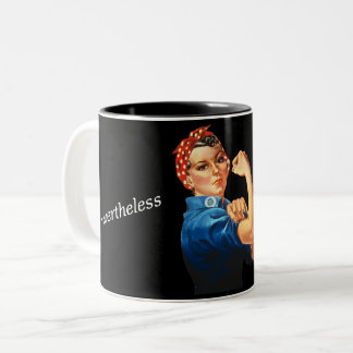 """She Persisted"" Mug"