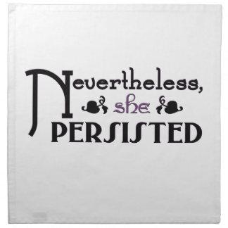 She Persisted Napkin