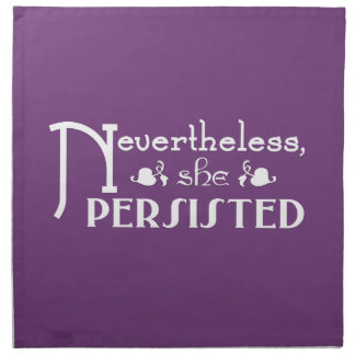 She Persisted Napkin