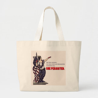 She Persisted. Tote