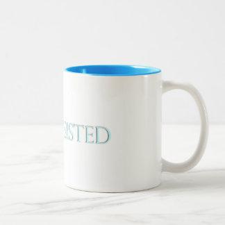 She Persisted. Two-Tone Coffee Mug