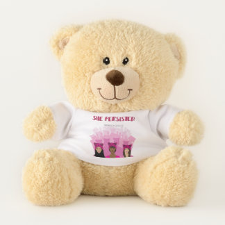 She Persisted - Women Unite Teddy Bear