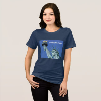 She Persists - Statue of Liberty Shirt