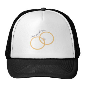 She Said yes Trucker Hat