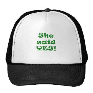 She Said Yes Mesh Hat
