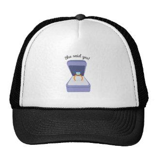 She Said Yes! Trucker Hat