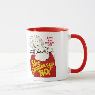 """She Shoulda Said No!"" 1949 Movie Poster Mug"