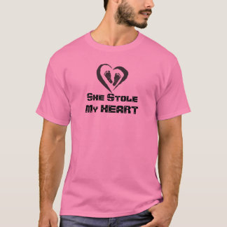 SHE Stole My Heart (DADDYS) Bragging Shirt