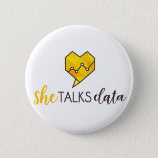 She Talks Data Button