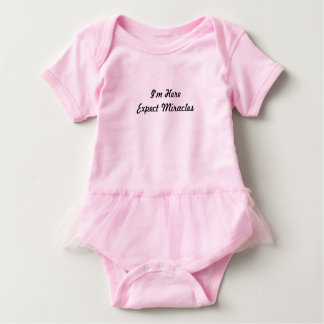 She the miracle baby bodysuit