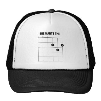 SHE WANTS THE D HAT