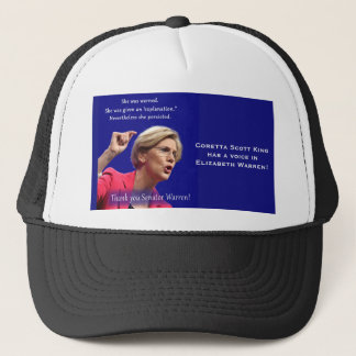 She Was Warned Trucker Hat