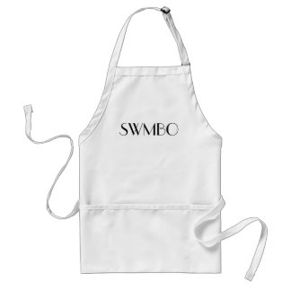 She Who Must Be Obeyed (SWMBO) Apron