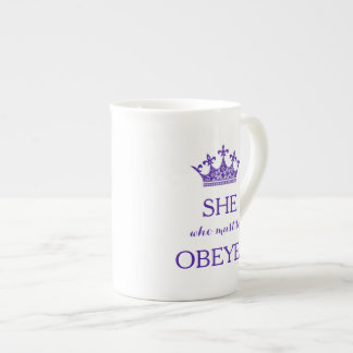 She who must be Obeyed Tea Cup