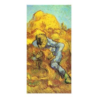 Sheaf Binder by Vincent van Gogh Picture Card