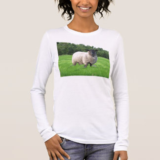 Sheal Ladies Long Sleeve (Fitted) Long Sleeve T-Shirt