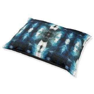Shear Blue Rustic Western Dog Bed