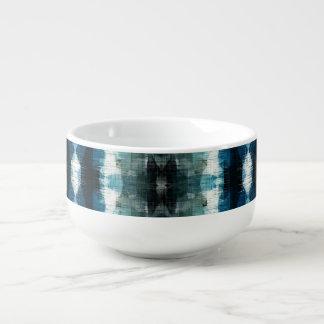 Shear Blue Rustic Western Soup Mug