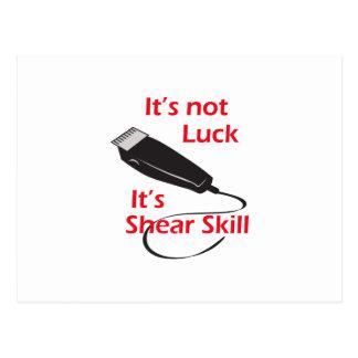 SHEAR SKILL POST CARDS