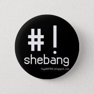 Shebang! 6 Cm Round Badge