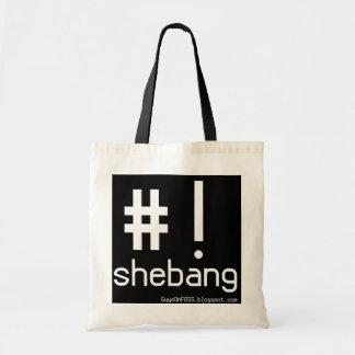 Shebang! Canvas Bags