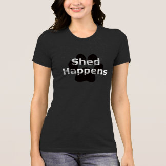 Shed Happens Paw Print Shirt