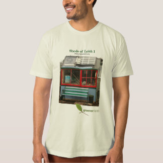 Sheds of Leith 1 Organic T-shirt