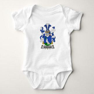 Sheehan Family Crest Baby Bodysuit