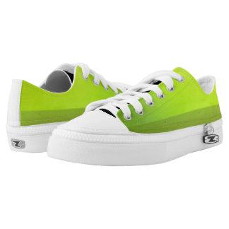 Sheen Green Low Tops