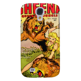 Sheena Queen of the Jungle Galaxy S4 Cover