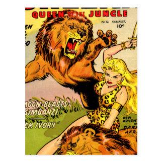 Sheena Queen of the Jungle Postcard
