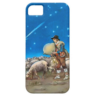 Sheep and shepherd iPhone 5 cover