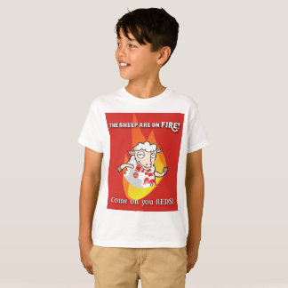 Sheep are on Fire Kid's T shirt