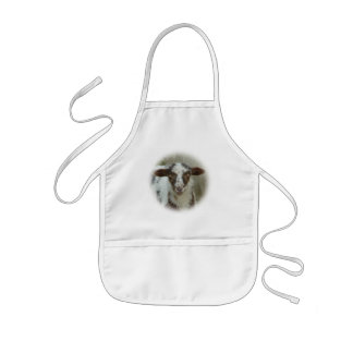 Sheep - Brown Spotted Lamb Kids' Apron