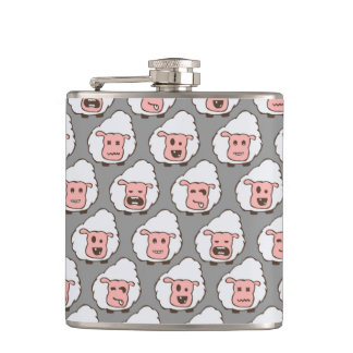 Sheep Canteen Hip Flask