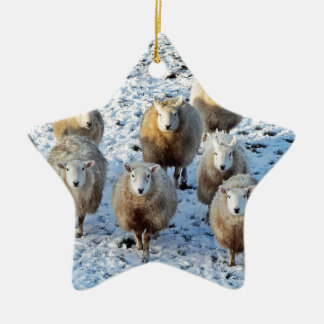 Sheep Ceramic Ornament