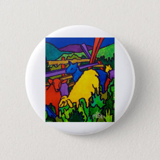 Sheep Color by Piliero 6 Cm Round Badge