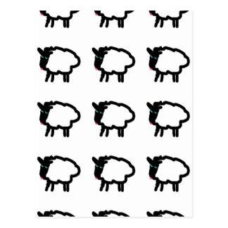 Sheep Design Postcards