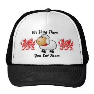 sheep, dragon, dragon, We Shag The... - Customized Cap