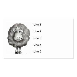 SHEEP DRAWING BUSINESS CARD
