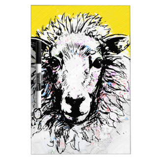 Sheep Dry Erase Board