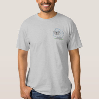 Sheep Embroidered T-Shirt