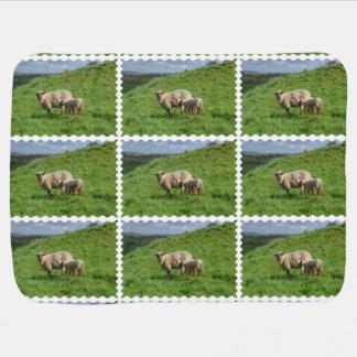 Sheep Family Pramblankets