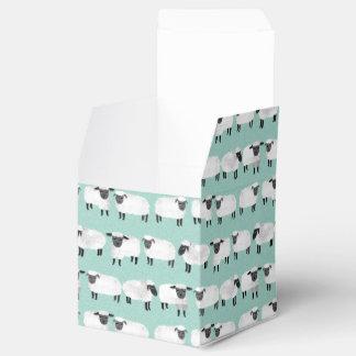 Sheep Farm Animal Sleep Pastel Mint /Andrea Lauren Wedding Favour Boxes