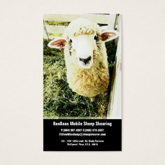 Sheep Farm or Shear Service Business Card