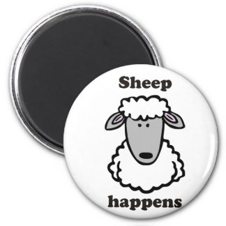 Sheep happens magnet