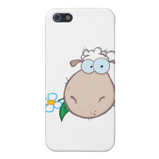 Sheep Head Cartoon Character Cover For iPhone 5/5S