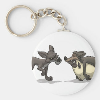 """""""Sheep in Wolf's Clothing"""" Keychain"""