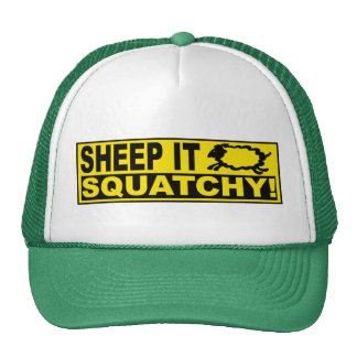 SHEEP IT SQUATCHY! Monsters Mysteries SHEEPSQUATCH Cap